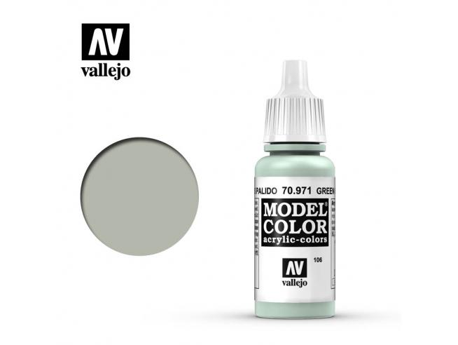 VALLEJO MC 106 GREEN GREY 70971 COLORI