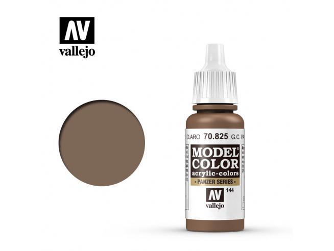 VALLEJO MC 144 GERMAN CAM PALE BROWN 70825 COLORI