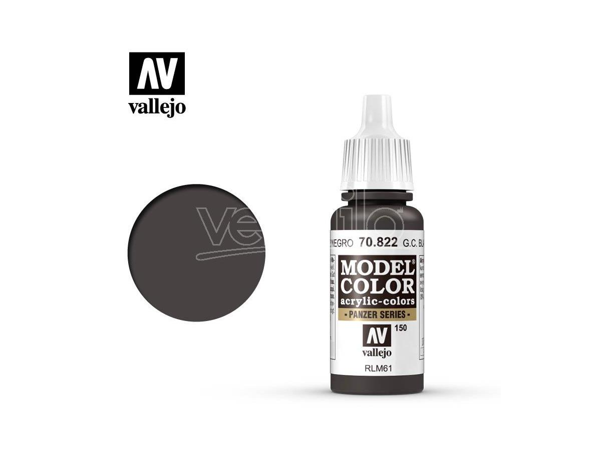VALLEJO MC 150 GERMAN CAM BLACK BROWN 70822 COLORI