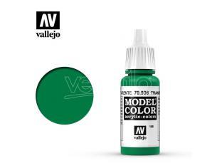 VALLEJO MC 188 TRANSPARENT GREEN 70936 COLORI
