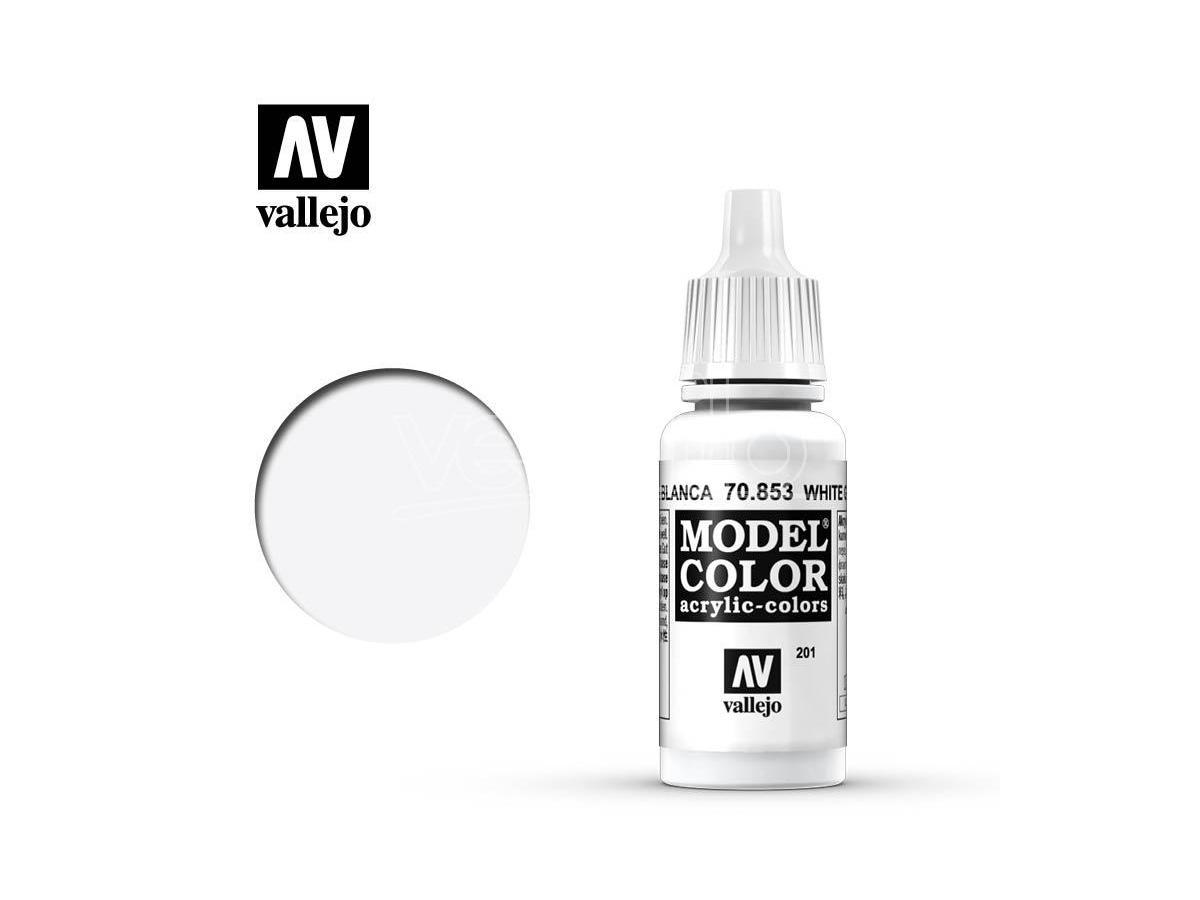 VALLEJO MC 201 WHITE GLAZE 70853 COLORI