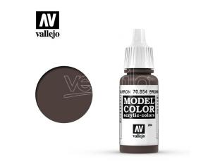 VALLEJO MC 204 BROWN GLAZE 70854 COLORI