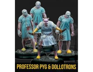 KNIGHT MODELS BMG PROFESSOR PYG & DOLLOTRON WARGAME