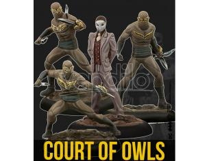 KNIGHT MODELS BMG THE COURT OF OWLS CREW WARGAME
