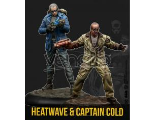KNIGHT MODELS BMG CAPTAIN COLD & HEATWAVE WARGAME