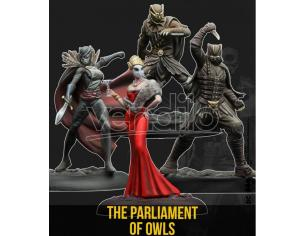 KNIGHT MODELS BMG THE PARLIAMENT OF OWLS WARGAME