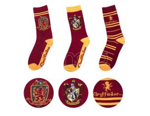 Harry Potter Cinereplicas  Gryffindor Socks 3 Pairs Set Accessori Abbigliamento