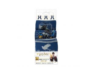 CINEREPLICAS HP RAVENCLAW SOCKS 3 PAIRS SET ACCESSORI ABBIGLIAMENTO