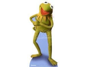 Star Muppets Kermit The Frog Album Per Carte Cutout Sagomato Lifesize