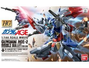 BANDAI MODEL KIT HG GUNDAM AGE-2 DOUBLE BULLET 1/144 MODEL KIT