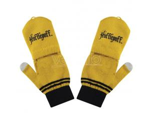 CINEREPLICAS HP HUFFLEPUFF FINGERLESS GLOVES/MITTEN ACCESSORI ABBIGLIAMENTO