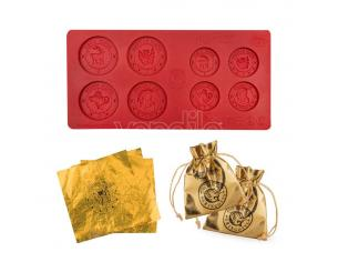 CINEREPLICAS HP GRINGOTTS CHOCOLATE COIN MOLD SET STAMPO