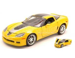 Maisto MI31203 CHEVROLET CORVETTE GT1 2009 YELLOW/BLACK 1:24 Modellino