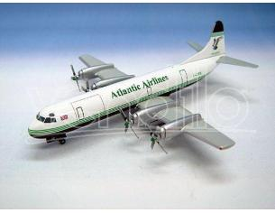 Herpa 561556 Atlantic Airways Lockheed L-188A Electra Aereo 1/400 Modellino