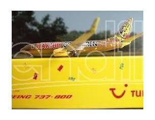 Herpa 517300 Boeing 737-800 'TUIfly Haribo Goldbaren' 1:500 Aereo Modellino