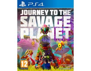 JOURNEY TO THE SAVAGE PLANET AVVENTURA - PLAYSTATION 4