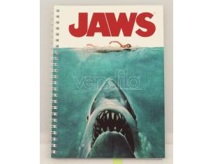 SD TOYS JAWS MOVIE POSTER SPIRAL NOTEBOOK TACCUINO
