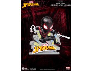 Beast Kingdom Mini Uova Attack Spider-man Miles Morales Mini Figura