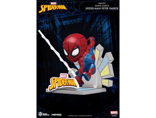 BEAST KINGDOM MINI EGG ATTACK SPIDER-MAN PETER PARKER MINI FIGURA