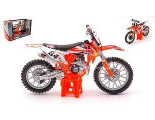 BBURAGO BU51081 KTM SX 450 2018 RED BULL N.84 JEFFREY HERLINGS 1:18 Modellino