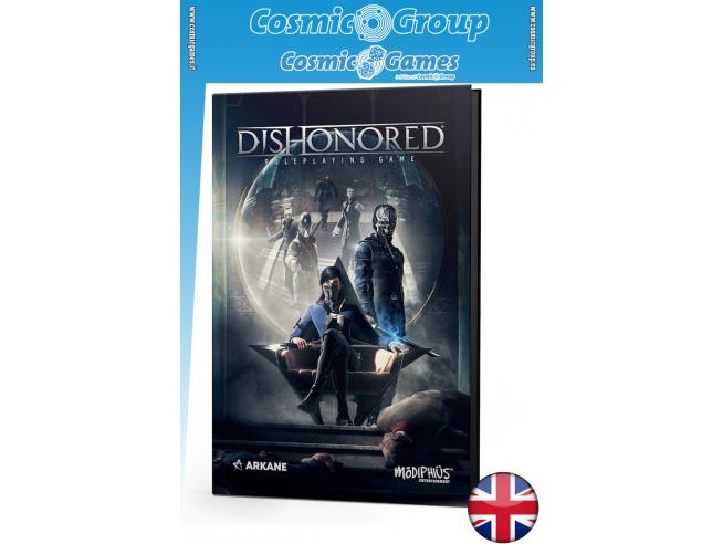 MODIPHIUS DISHONORED - THE ROLEPLAYING GAME GIOCO DI RUOLO