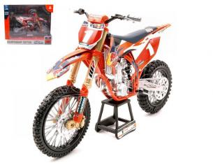 New Ray NY57953 KTM 450SX-F RED BULL N.1 RYAN DUNGEY 1:10 Modellino