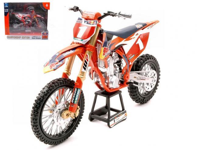 New Ray NY57953 KTM 450SX-F RED BULL N.1 RYAN DUNGEY 1:10 Modellino