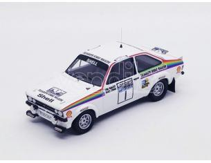 Trofeu TFRRUK30 FORD ESCORT MK2 N.1 RAC RALLY 1976 MAKINEN-LIDDON 1:43 Modellino