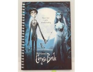 SD TOYS CORPSE BRIDE MOVIE POSTER SPIRAL NOTEBOO TACCUINO