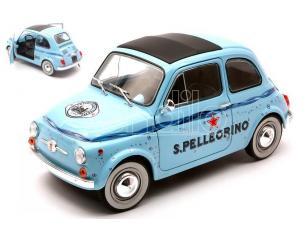 Solido SL1801406 Fiat 500 1965 San Pellegrino Scala 1:18 Modellino