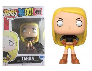 Funko Teen Titans Go! POP Television Vinile Figura Terra 9 cm Esclusiva Scatola Rovinata