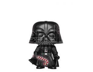 Funko Star Wars POP Movies Vinile Darth Vader Vacanze Natale 9 cm CHASE Scatola Rovinata