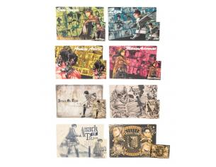 BANPRESTO AOT BREAKFAST MATS SET (8) ACCESSORI CUCINA