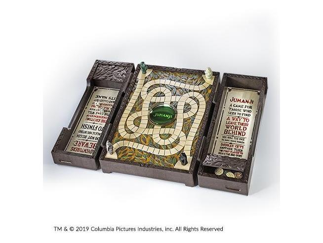 Replica Scacchiera Jumanji Gioco da Tavolo da Collezione Noble Collection