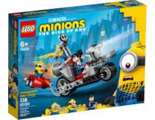 LEGO MINIONS 75549 - MOTO DA INSEGUIMENTO