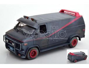 Greenlight GREEN13567 GMC VANDURA THE A-TEAM 1983-87 DIRTY VERSION 1:18 Modellino
