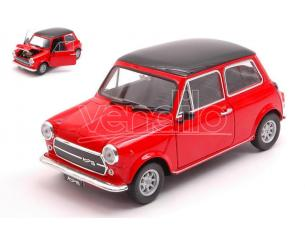 Welly WE22496R MINI COOPER 1300 RED W/BLACK ROOF 1:24 Modellino