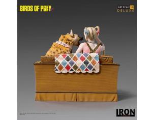 IRON STUDIO BIRDS OF PREY HARLEY QUINN & BRUCE ST STATUA