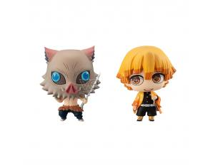 MEGAHOUSE CHIMIMEGA BUDDY DEMON SLAYER ZEN/INOSUKE MINI FIGURA