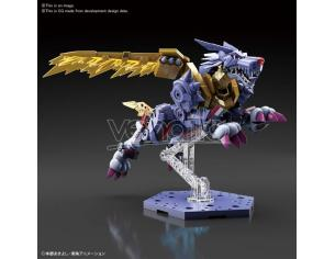 Bandai Model Kit Figura Rise Digimon Metallo Garurumon Ampl Model Kit
