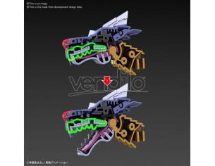 Bandai Model Kit Figura Rise Digimon Metallo Garurumon Ampl Model Kit