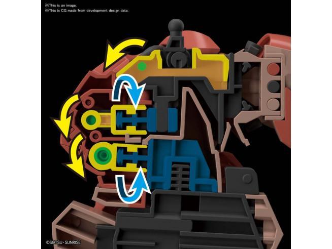 BANDAI MODEL KIT HG MESSER 1/144 MODEL KIT