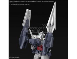 BANDAI MODEL KIT HGBDR PROTAG UNIT NEW ARMOR/WEAP 1/144 MODEL KIT