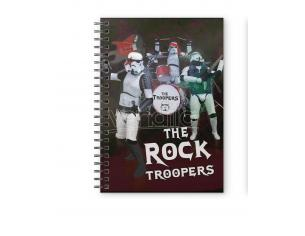 SD TOYS ORIGINAL STORMTROOPER ROCK NOTEBOOK TACCUINO