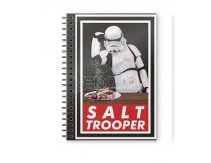 SD TOYS ORIGINAL STORMTROOPER SALT NOTEBOOK TACCUINO