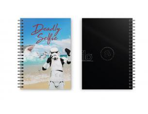 SD TOYS ORIGINAL STORMTROOPER SELFIE NOTEBOOK TACCUINO