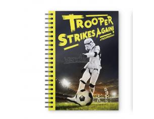 SD TOYS ORIGINAL STORMTROOPER STRIKES NOTEBOOK TACCUINO