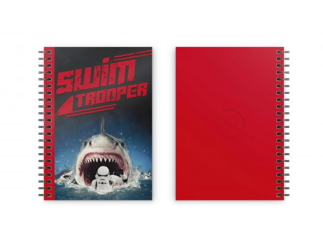 SD TOYS ORIGINAL STORMTROOPER SWIMMING NOTEBOOK TACCUINO