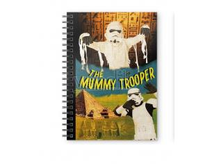 SD TOYS ORIGINAL STORMTROOPER THE MUMMY NOTEBOOK TACCUINO