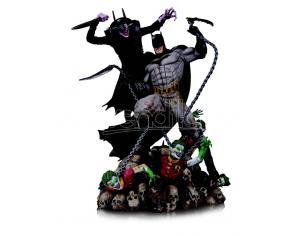 DC DIRECT BATMAN WHO LAUGHS VS BATMAN BATTLE ST STATUA
